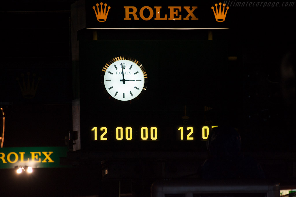 Halfway    - 2012 24 Hours of Le Mans