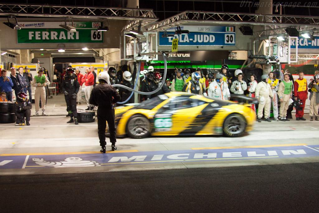 JMW Ferrari - Chassis: 2808   - 2012 24 Hours of Le Mans