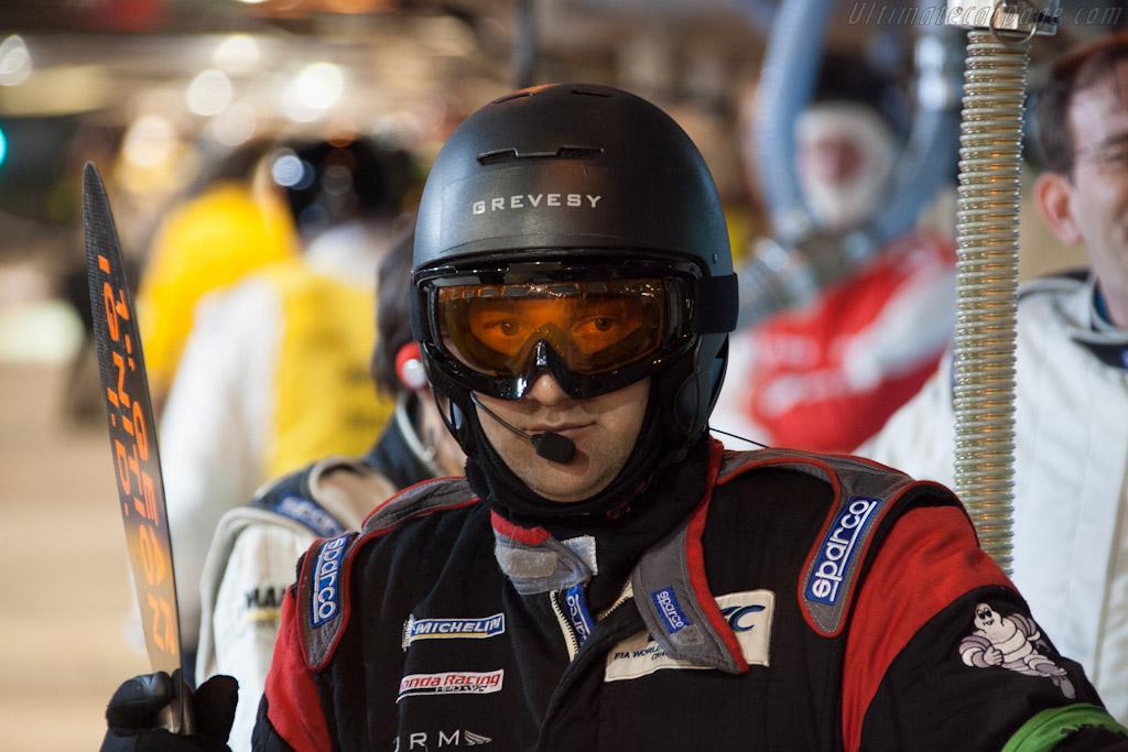 JRM Mechanic    - 2012 24 Hours of Le Mans