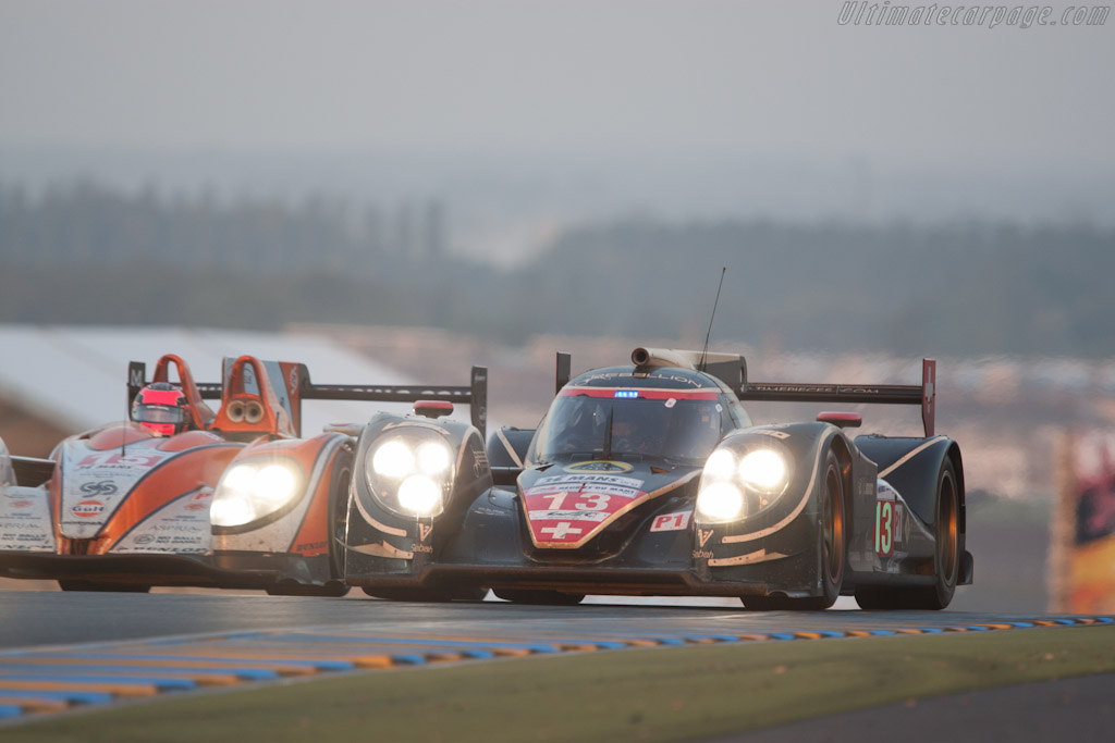 Lola B12/60 Toyota - Chassis: B0980-HU01S  - 2012 24 Hours of Le Mans