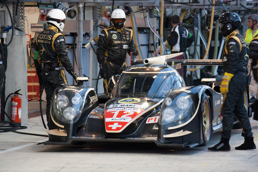 Lola B12/60 Toyota - Chassis: B1060-HU01   - 2012 24 Hours of Le Mans