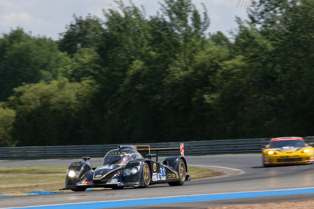 Lola B12/80 Judd - Chassis: B1280-HU06   - 2012 24 Hours of Le Mans