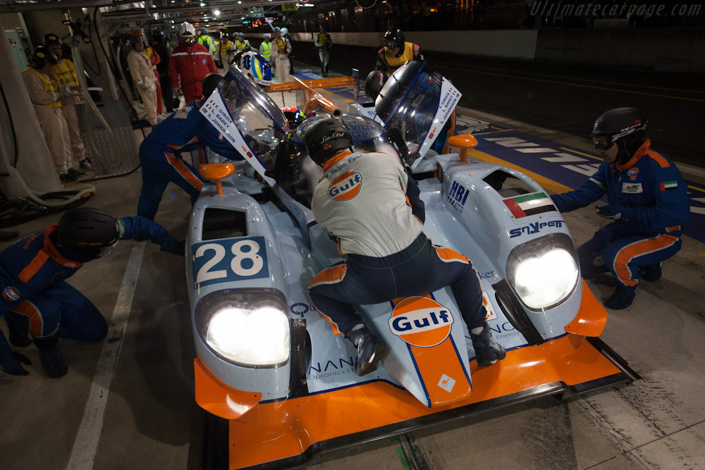 Lola B12/80 Nissan - Chassis: B1280-HU01   - 2012 24 Hours of Le Mans