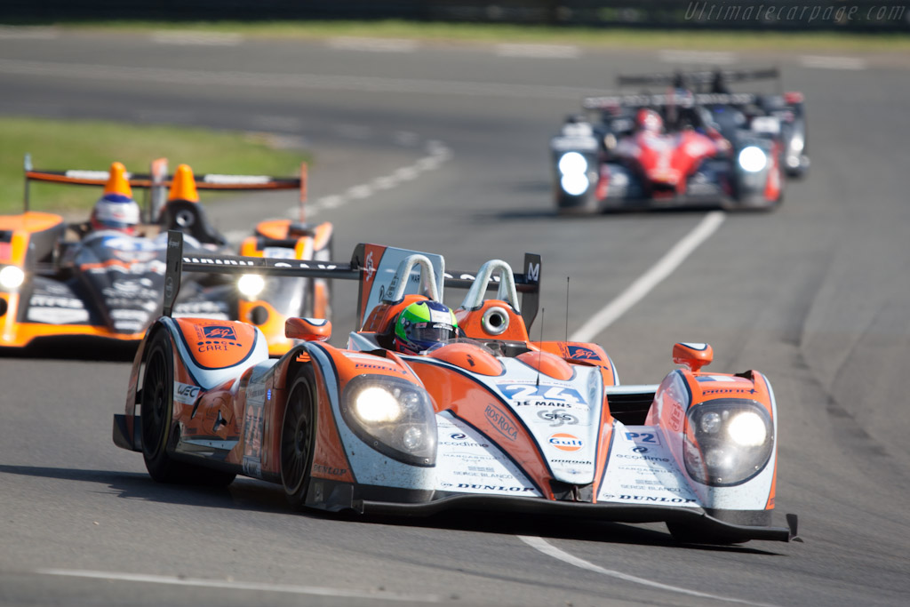 Morgan LMP Judd - Chassis: 01-14   - 2012 24 Hours of Le Mans