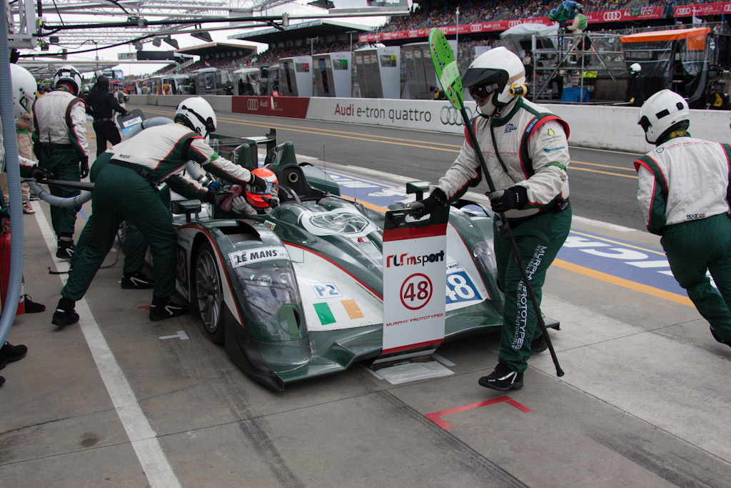 Murphy Pit Stop - Chassis: 11   - 2012 24 Hours of Le Mans