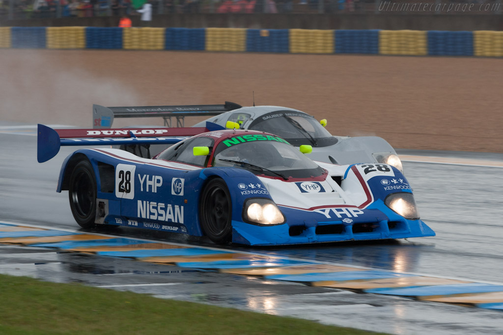 Nissan R90CK - Chassis: R90C/1 - Driver: Kent Abrahamson  - 2012 24 Hours of Le Mans