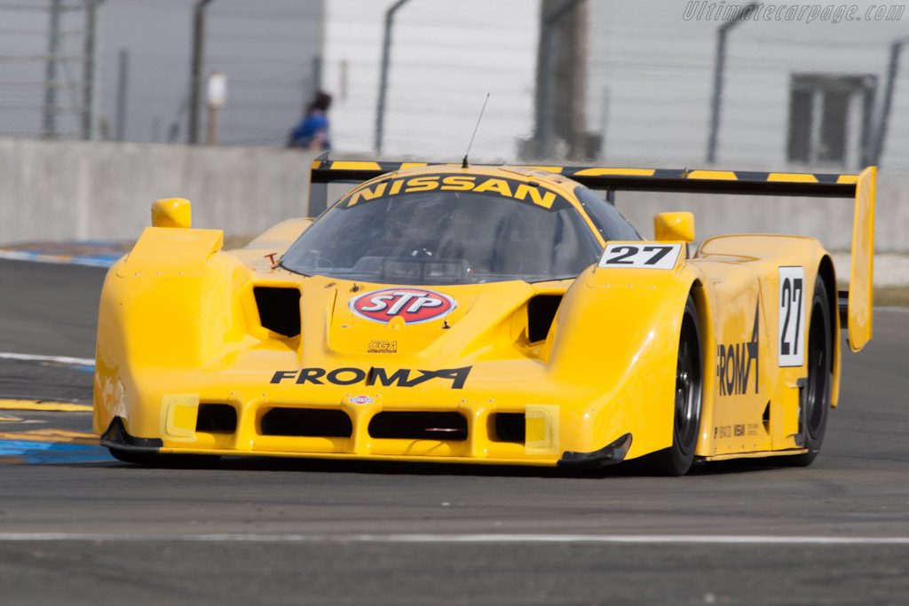 Nissan R91CP - Chassis: R90C/7   - 2012 24 Hours of Le Mans
