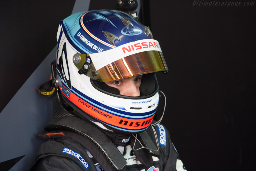 Olivier Lombard    - 2012 24 Hours of Le Mans