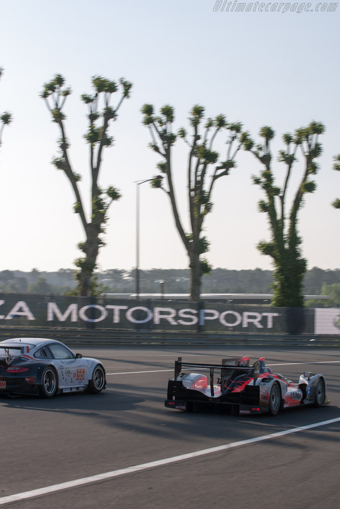 Oreca 03 Nissan - Chassis: 09   - 2012 24 Hours of Le Mans