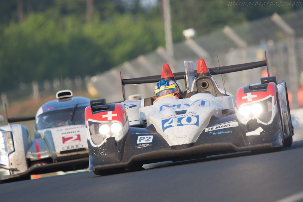 Oreca 03 Nissan - Chassis: 02  - 2012 24 Hours of Le Mans