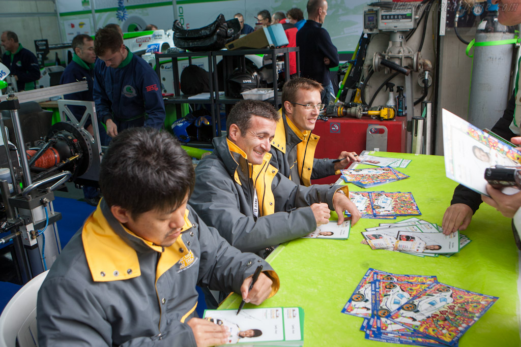 Pescarolo's Dome drivers    - 2012 24 Hours of Le Mans