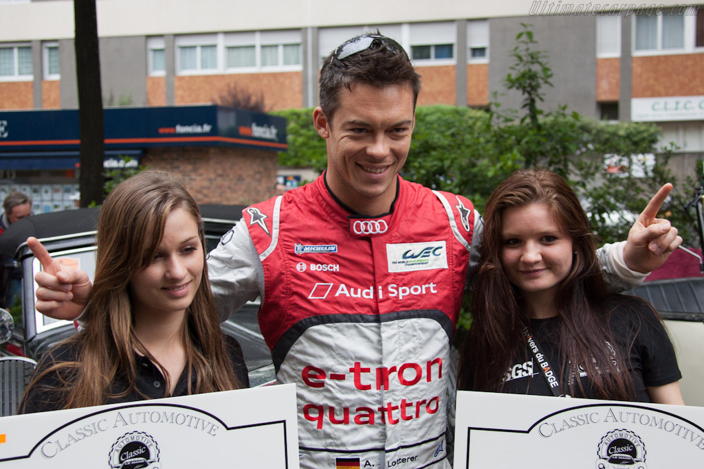 Pole-man Andre Lotterer    - 2012 24 Hours of Le Mans
