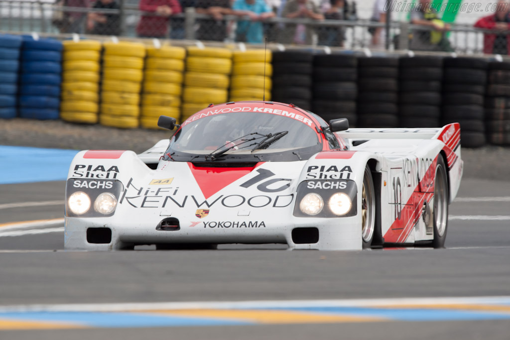 Porsche 962 - Chassis: CK6-88   - 2012 24 Hours of Le Mans