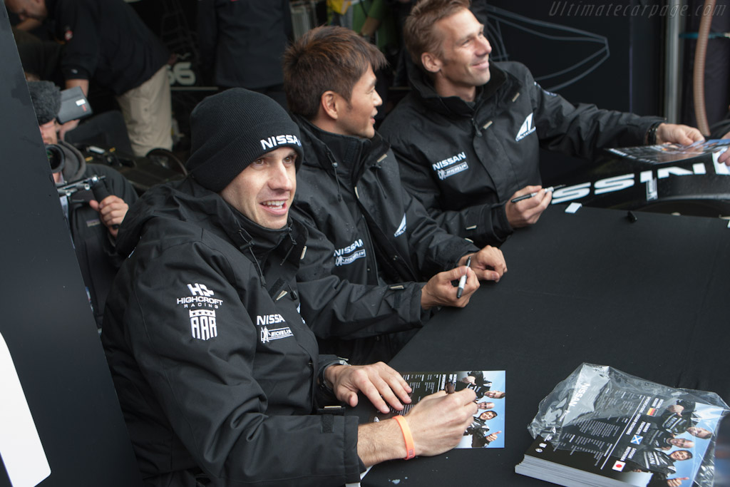 The DeltaWing crew    - 2012 24 Hours of Le Mans