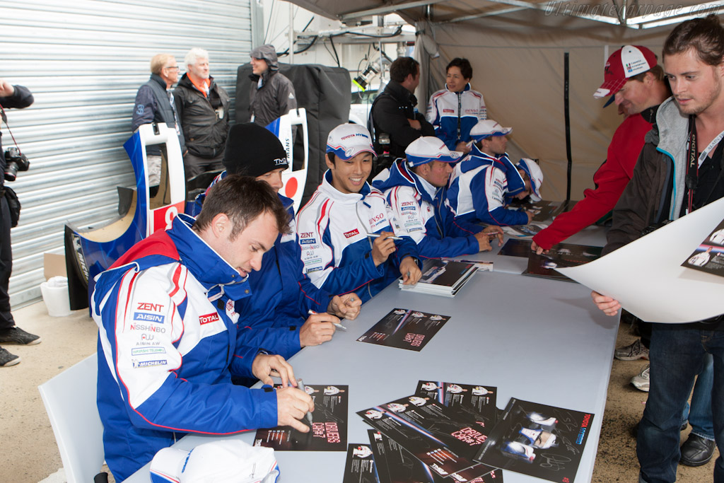 The Toyota men    - 2012 24 Hours of Le Mans