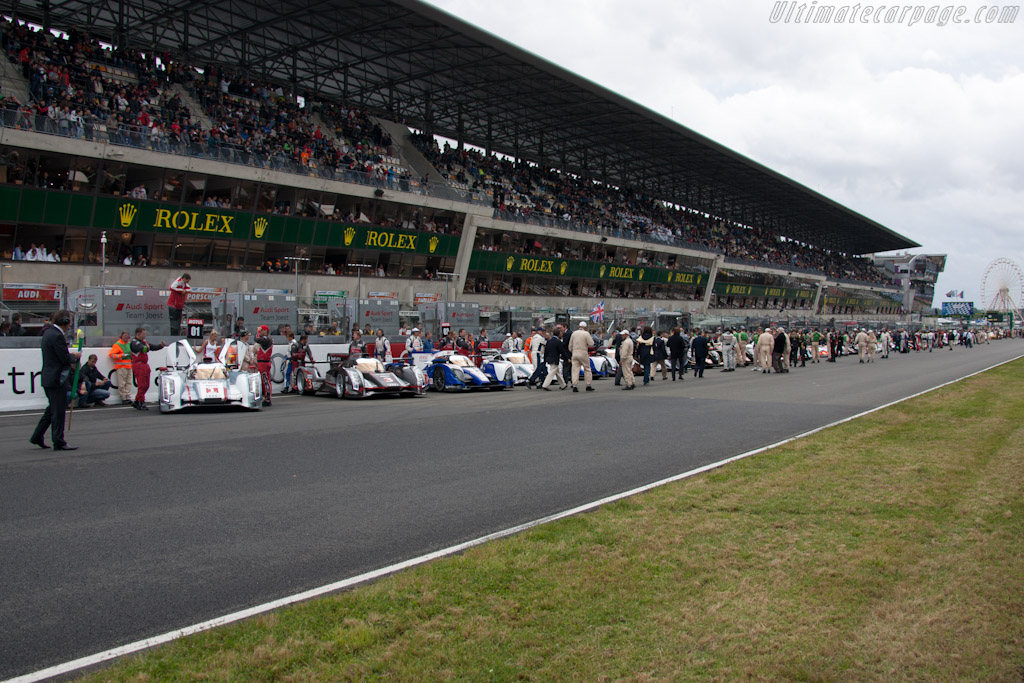 The grid    - 2012 24 Hours of Le Mans