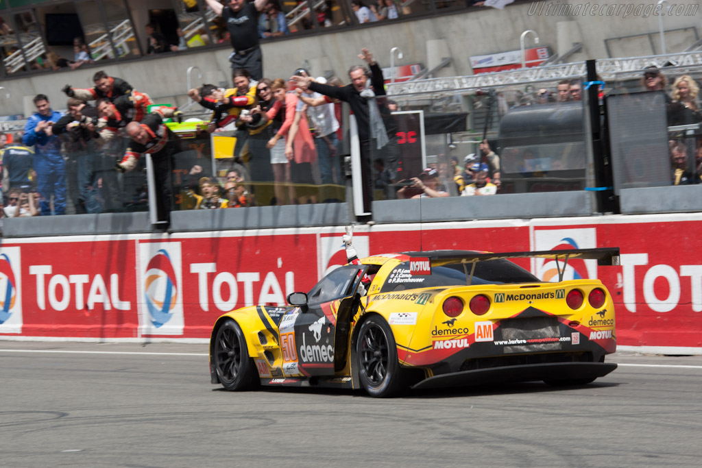 Three class wins for Larbre - Chassis: C6GT-003   - 2012 24 Hours of Le Mans
