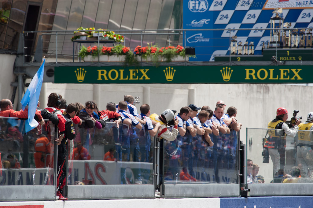 Toyota Crew   - 2012 24 Hours of Le Mans