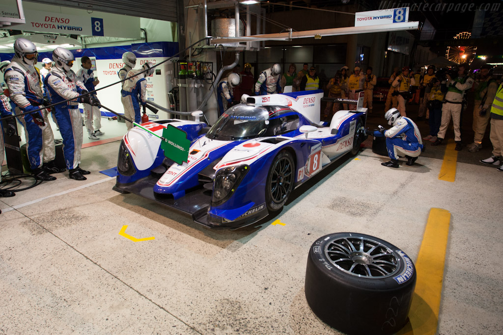 Toyota Stop - Chassis: 12-03   - 2012 24 Hours of Le Mans