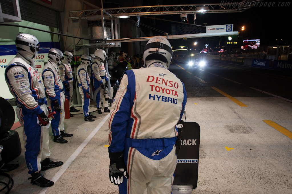 Toyota Stop    - 2012 24 Hours of Le Mans