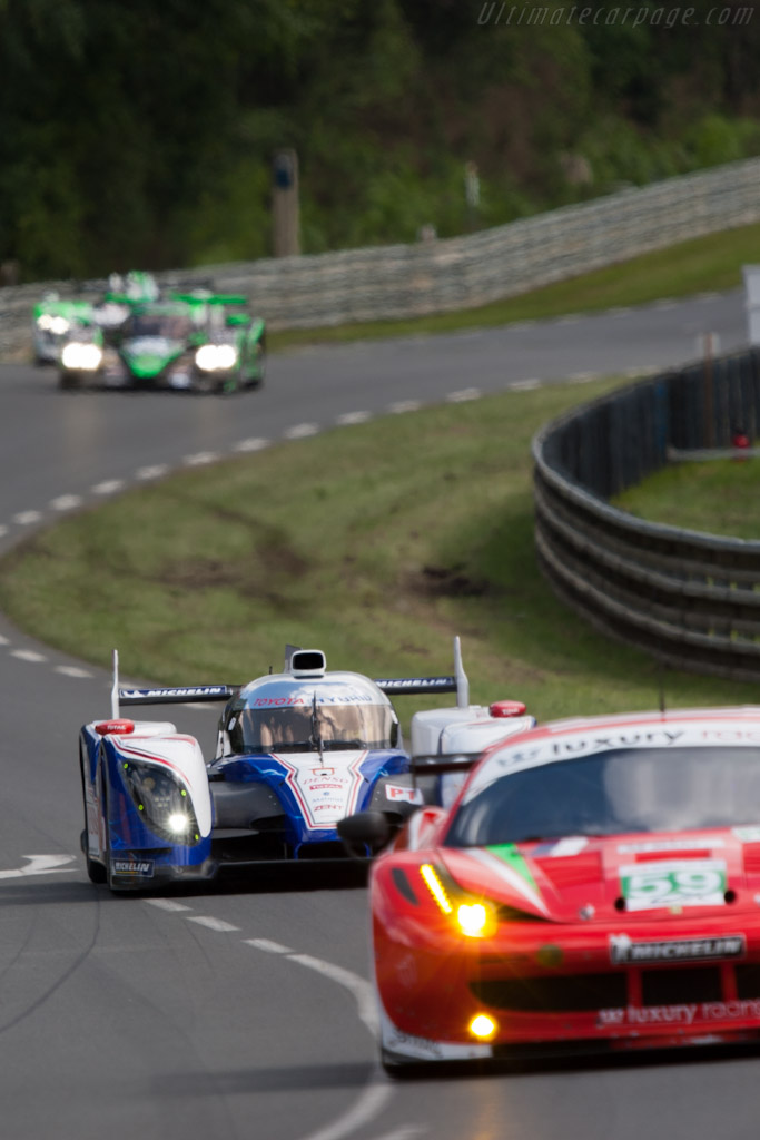 Toyota TS030 Hybrid - Chassis: 12-02 - 2012 24 Hours of Le Mans