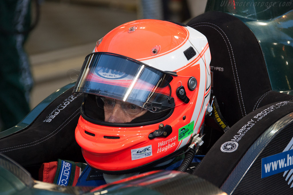 Warren Hughes - Chassis: 11   - 2012 24 Hours of Le Mans