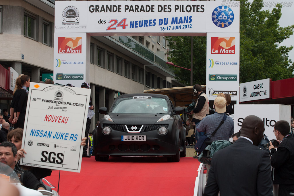 Welcome to the Grande Parade des Pilotes    - 2012 24 Hours of Le Mans