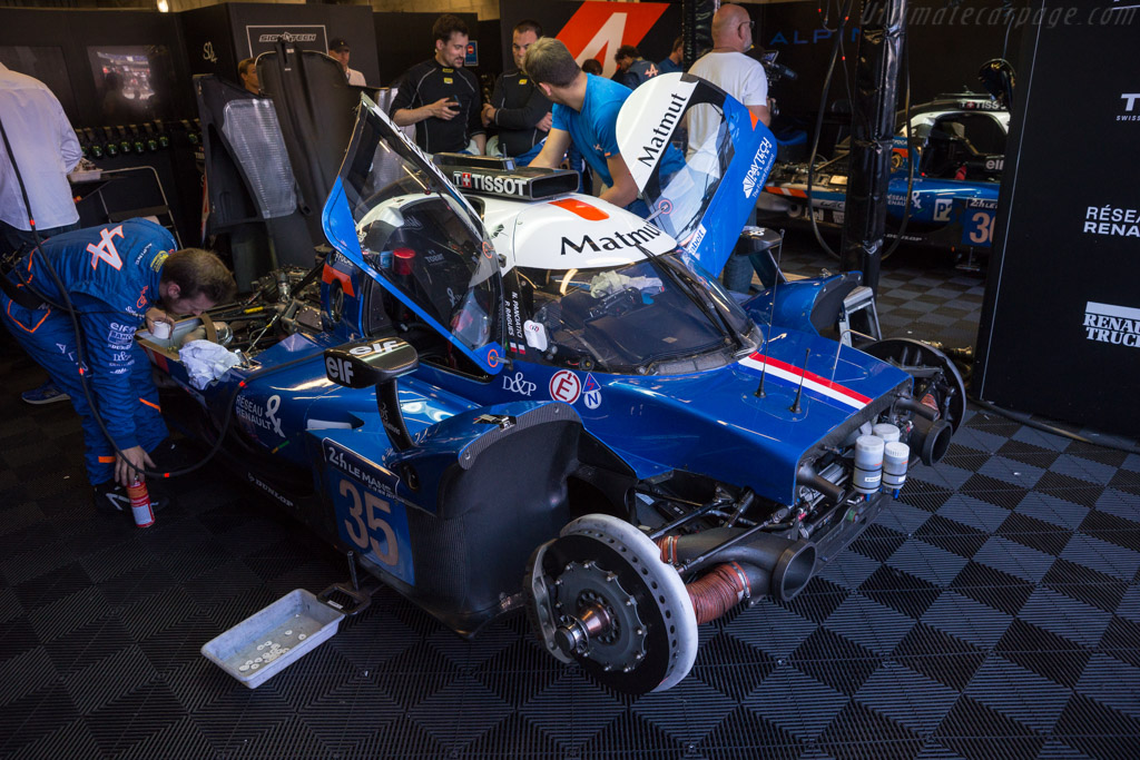 Alpine A470 Gibson  - Entrant: Signatech Alpine Matmut - Driver: Nelson Panciatici / Pierre Ragues / Andre Negrao  - 2017 24 Hours of Le Mans