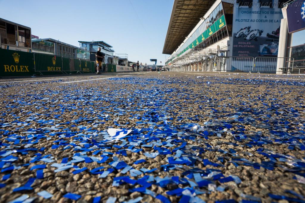 Battered remains    - 2017 24 Hours of Le Mans