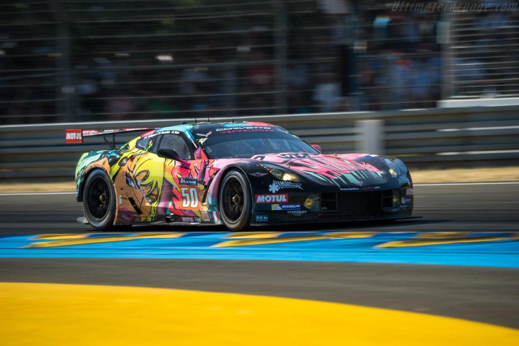 Chevrolet Corvette C7.R  - Entrant: Larbre Competition - Driver: Fernando Rees / Romain Brandela / Christian Philippon  - 2017 24 Hours of Le Mans