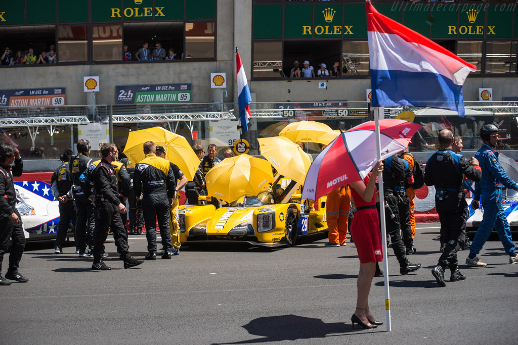 Dallara P217 Gibson - Chassis: P217-001 - Entrant: Racing Team Nederland - Driver: Jan Lammers / Frits van Eerd / Rubens Barrichello  - 2017 24 Hours of Le Mans