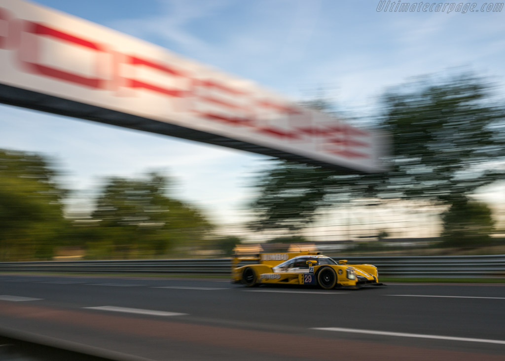 Dallara P217 Gibson  - Entrant: Racing Team Nederland - Driver: Jan Lammers / Frits van Eerd / Rubens Barrichello  - 2017 24 Hours of Le Mans