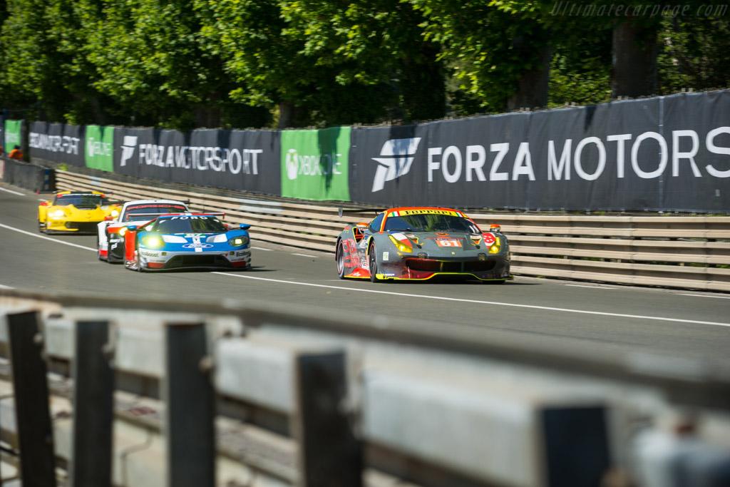 Ferrari 488 GTE  - Entrant: Clearwater Racing - Driver: Weng Sun Mok / Keita Sawa / Matthew Griffin  - 2017 24 Hours of Le Mans