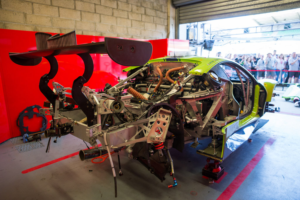 Ferrari 488 GTE  - Entrant: DH Racing - Driver: Tracy Krohn / Niclas Jonsson / Andrea Bertolini  - 2017 24 Hours of Le Mans