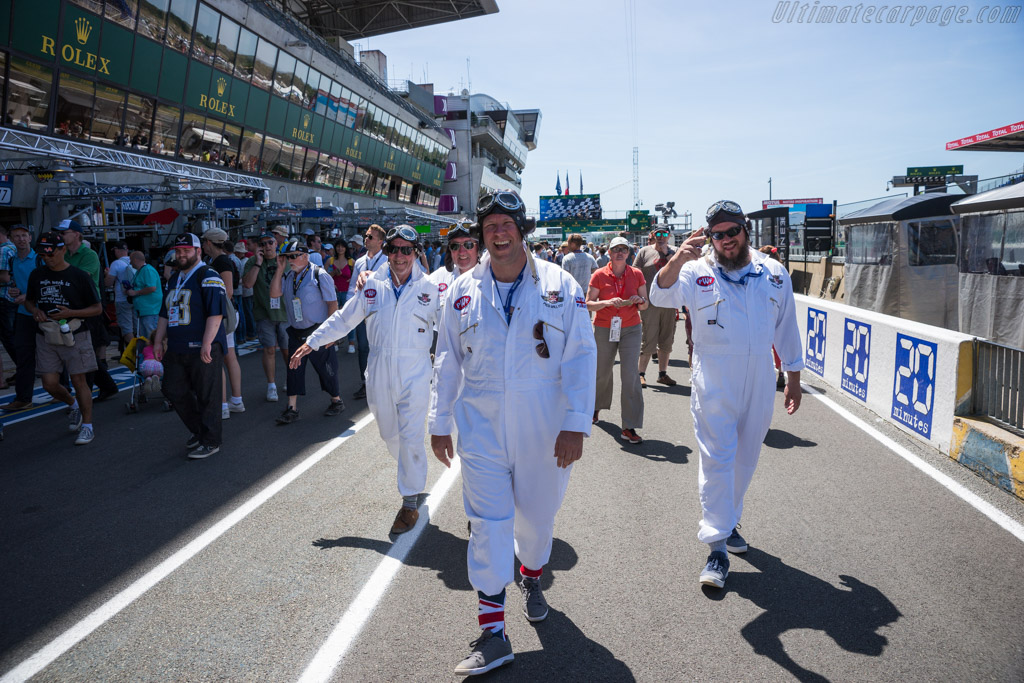Grid walk    - 2017 24 Hours of Le Mans
