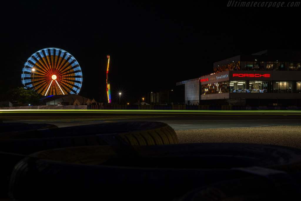 Le Mans at night    - 2017 24 Hours of Le Mans
