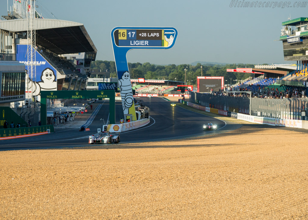 Ligier JSP217 Gibson  - Entrant: United Autosports - Driver: Will Owen / Hugo de Sadeleer / Felipe Albuquerque  - 2017 24 Hours of Le Mans