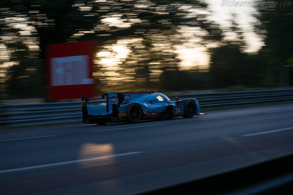 Ligier JSP217 Gibson  - Entrant: Tockwith Motorsports - Driver: Nigel Moore / Phil Hanson / Karun Chandhok  - 2017 24 Hours of Le Mans