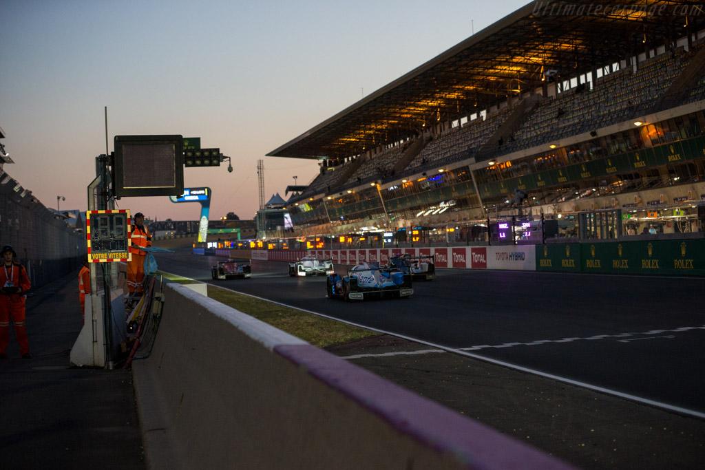 Oreca 07 Gibson  - Entrant: Vaillante Rebellion - Driver: Nelson Piquet Jr / David Heinemeier Hansson / Mathias Beche  - 2017 24 Hours of Le Mans