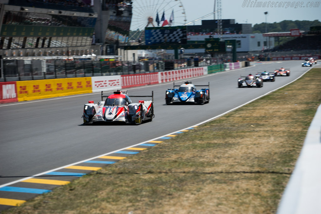 Oreca 07 Gibson - Chassis: 07-LMP2-04 - Entrant: TDS Racing - Driver: Francois Perrodo / Matthieu Vaxiviere / Emmanuel Collard  - 2017 24 Hours of Le Mans
