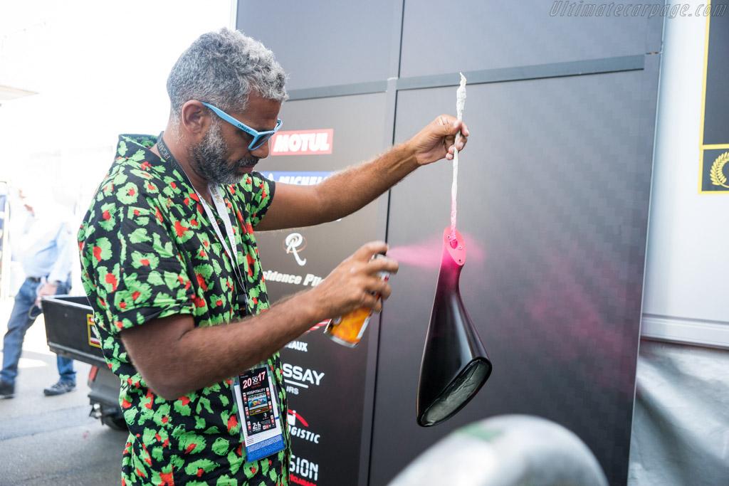 Ramzi Adek    - 2017 24 Hours of Le Mans