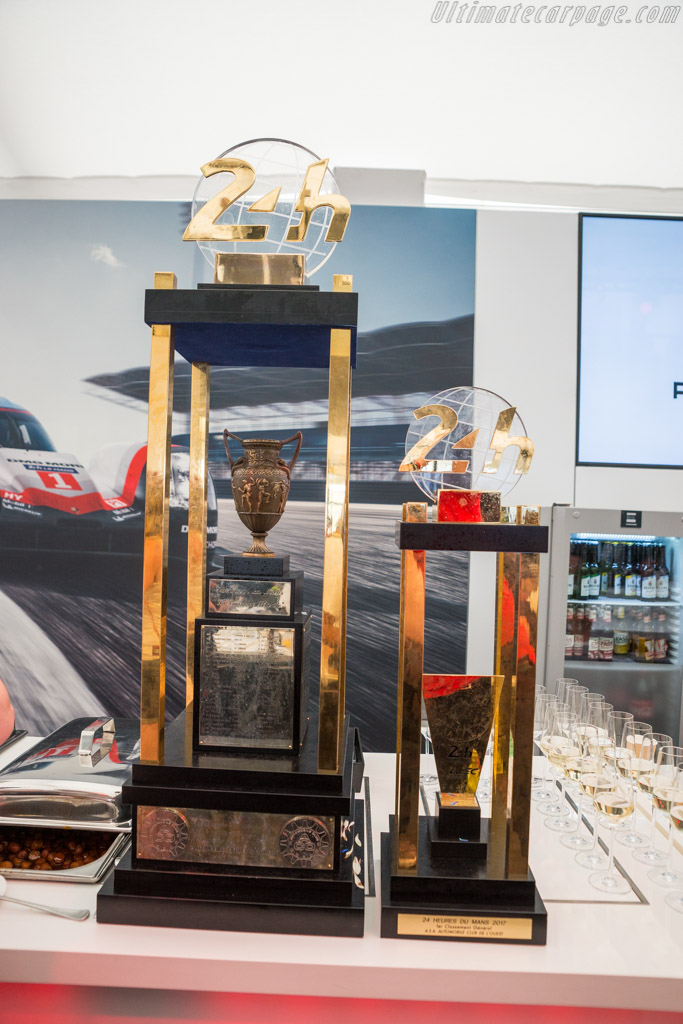 The Trophies    - 2017 24 Hours of Le Mans