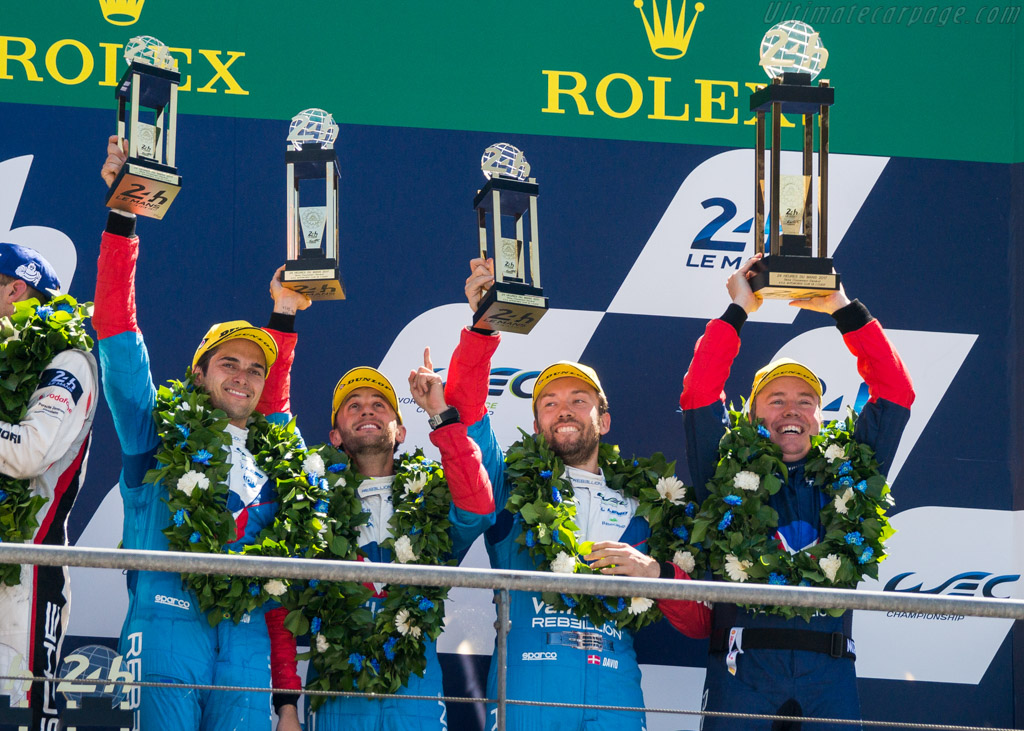 Third but not for long    - 2017 24 Hours of Le Mans