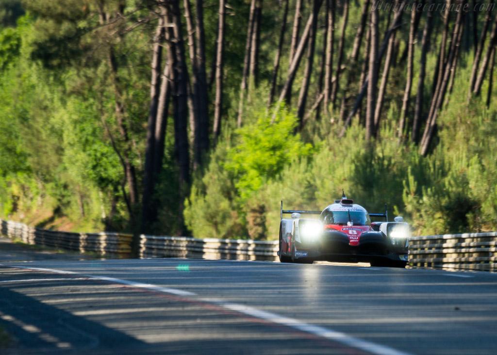 Toyota TS050  - Entrant: Toyota Gazoo Racing - Driver: Sebastien Buemi / Anthony Davidson / Kazuki Nakajima  - 2017 24 Hours of Le Mans