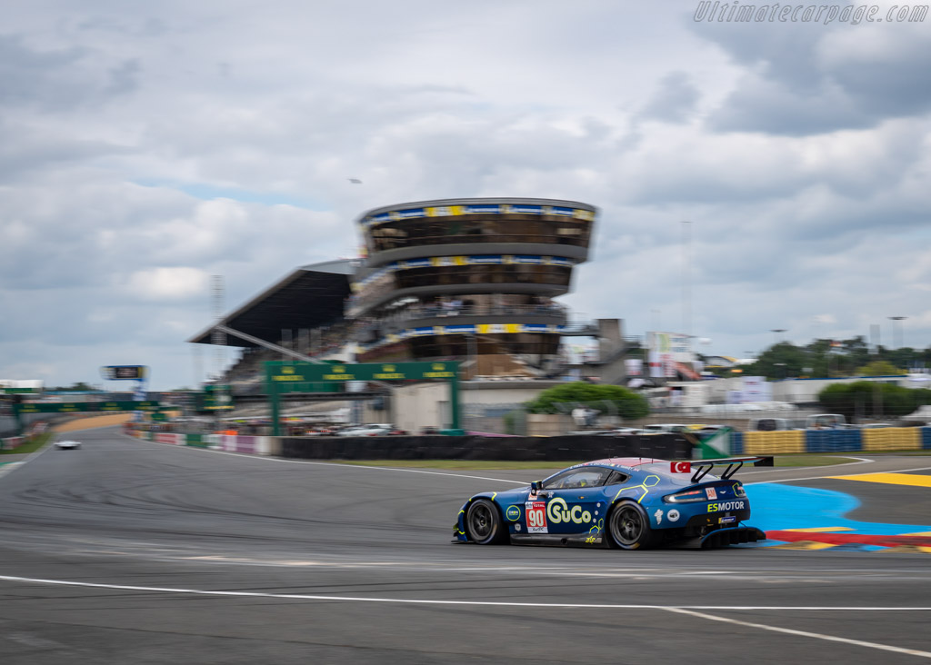 Aston Martin Vantage  - Entrant: TF Sport - Driver: Salih Yoluc / Euan Hankey / Charles Eastwood  - 2018 24 Hours of Le Mans
