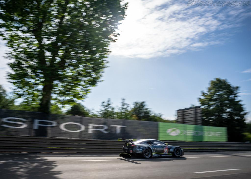Aston Martin Vantage  - Entrant: Aston Martin Racing - Driver: Paul Dalla Lana / Pedro Lamy / Mathias Lauda  - 2018 24 Hours of Le Mans