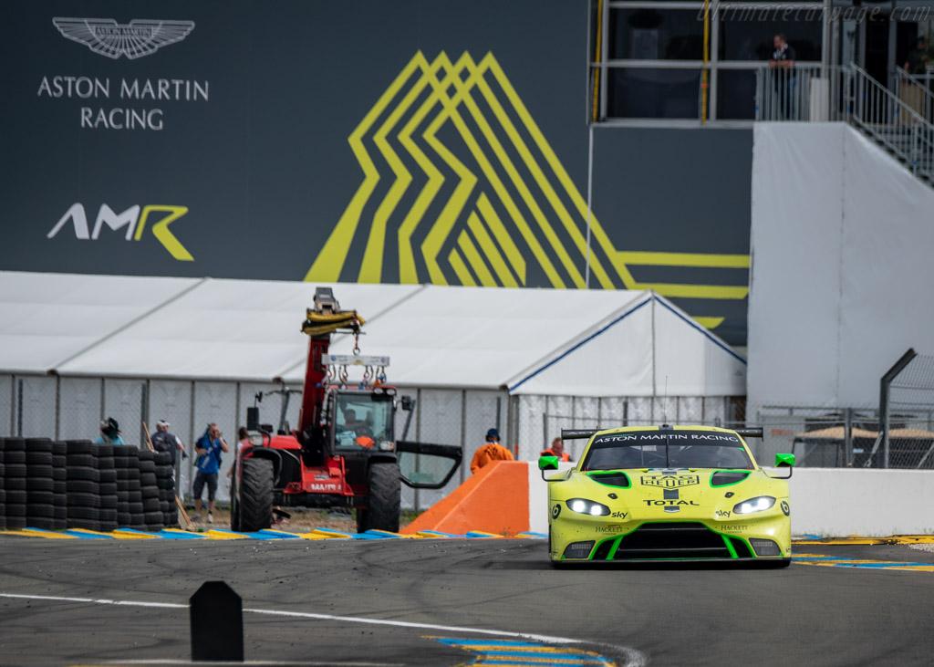 Aston Martin Vantage AMR  - Entrant: Aston Martin Racing - Driver: Alexander Lynn / Maxime Martin / Jonathan Adam  - 2018 24 Hours of Le Mans