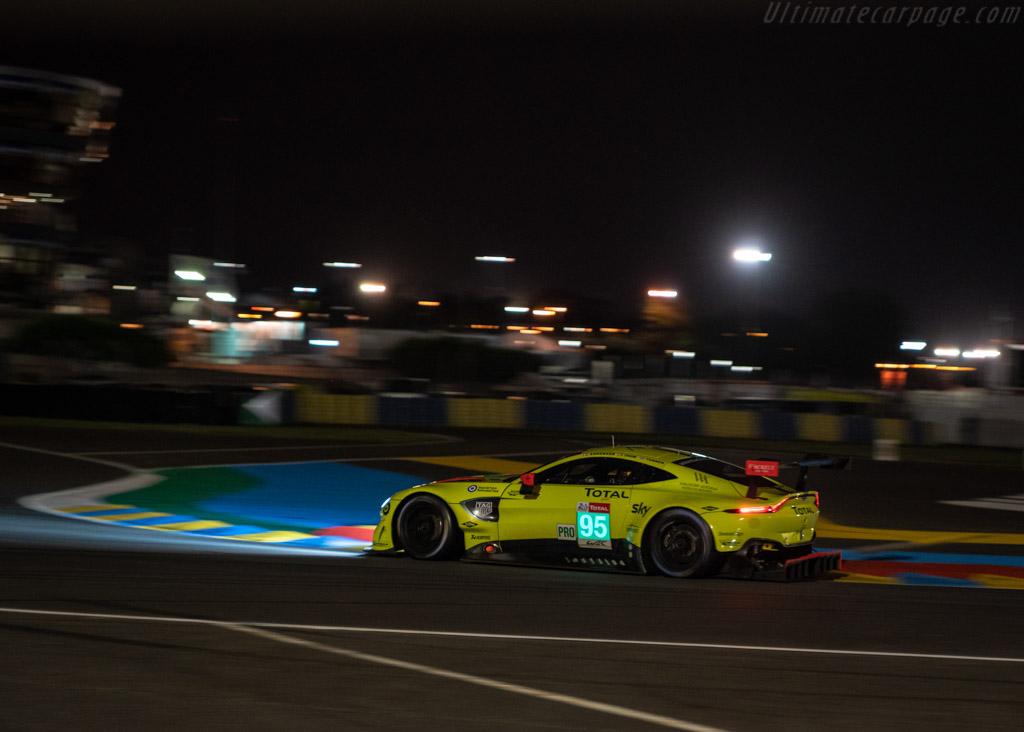 Aston Martin Vantage AMR - Chassis: 15A-002-2 - Entrant: Aston Martin Racing - Driver: Marco Sørensen / Nicki Thiim / Darren Turner - 2018 24 Hours of Le Mans
