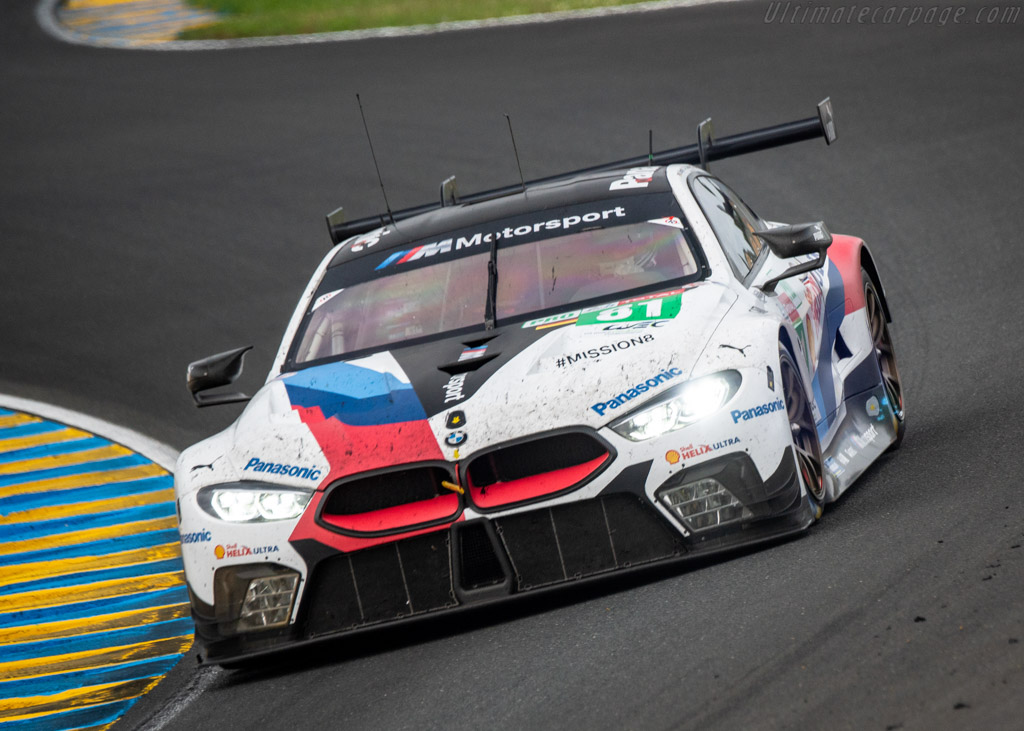 BMW M8 GTE  - Entrant: BMW Team MTEK - Driver: Martin Tomczyk / Nicky Catsburg / Philipp Eng  - 2018 24 Hours of Le Mans