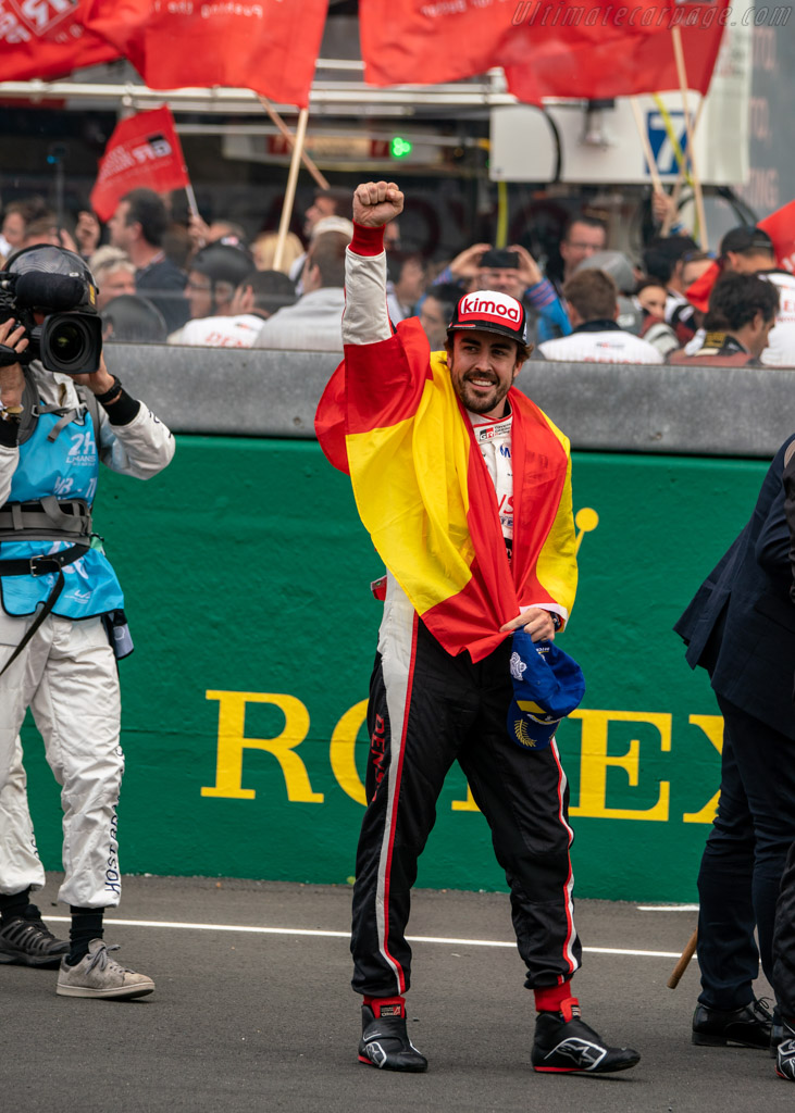 Fernando Alonso    - 2018 24 Hours of Le Mans